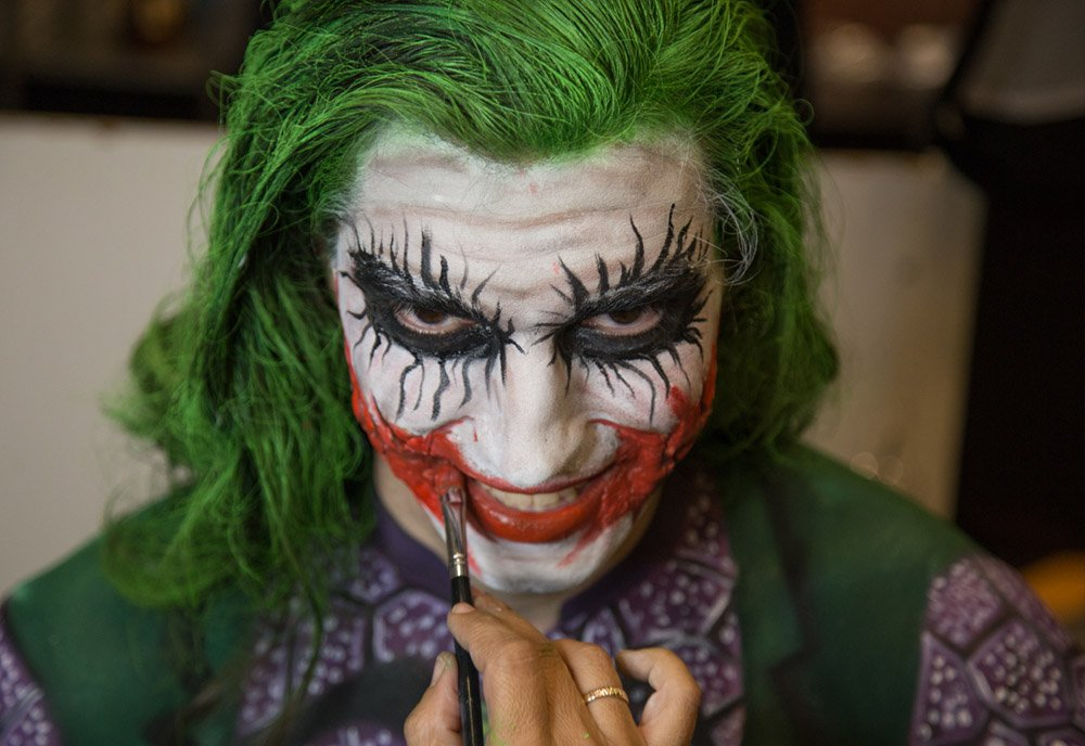 Ο Joker στο Athens Tattoo Convention 2019